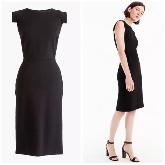 00fa55ff5eb J. Crew Dresses   Skirts - J.Crew 10 Resume Dress Stretch Ponte Black